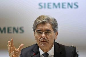 Výkonný riaditeľ Siemens Jo Kaeser.