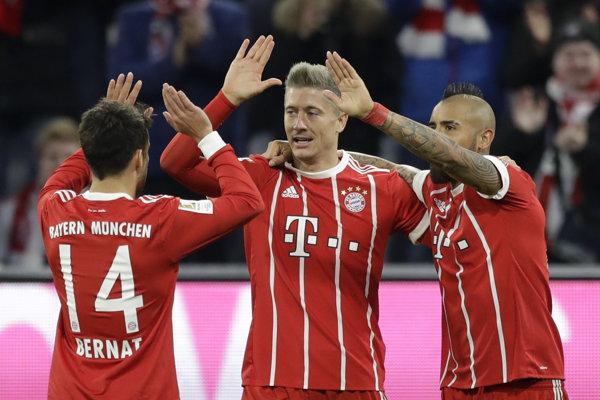 Bayern doma triumfoval 3:1.
