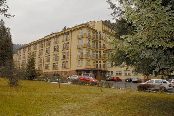 Nemocnica v Kvetnici v čase, keď bola ešte funkčná.