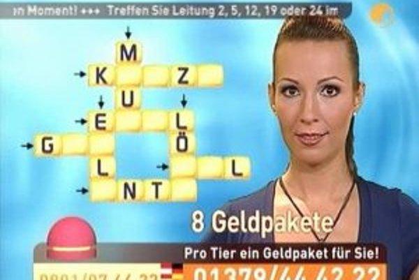Juliane Zieglerovej (na snímke) sa stalo osudným moderovanie relácie Nightloft na ProSieben v noci z utorka na stredu