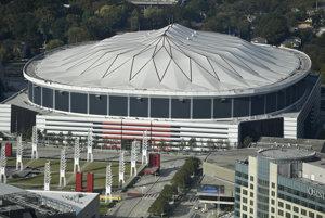 Ikonický štadión Georgia Dome.