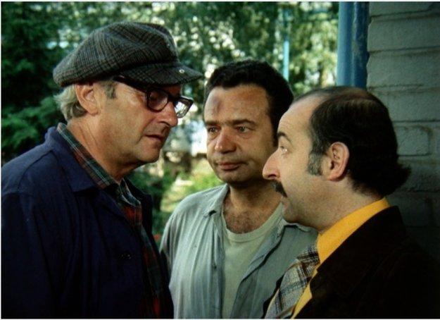Juraj Herz ako herec. Zahral si napríklad v komédii Což takhle dát si špenát.