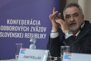 Prezident KOZ Jozef Kollár.