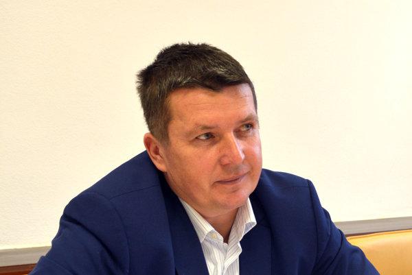 Starosta Krásnej Marek Kažimír.