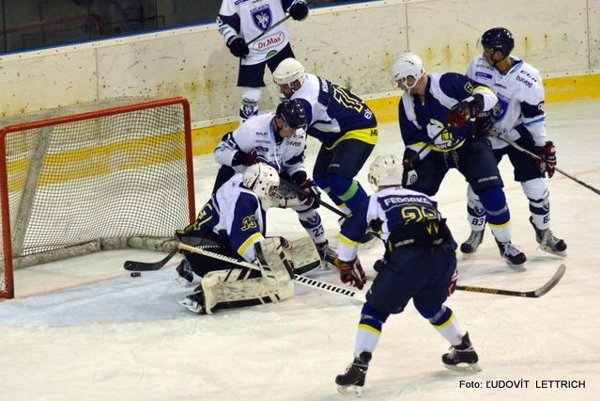 Šláger II. hokejovej ligy - skupiny východ. Martin doma podľahol Humennému 4:3.
