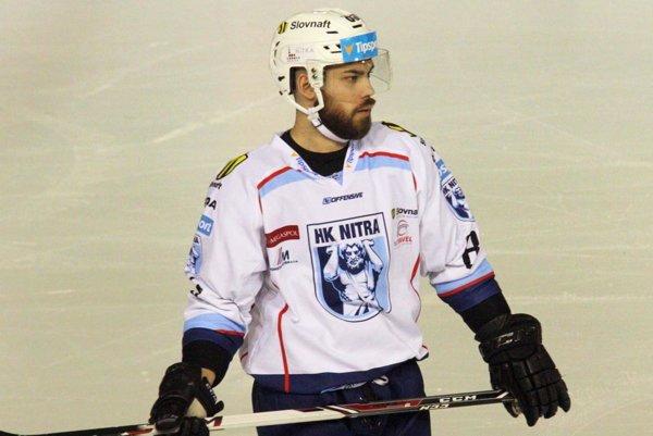 Marek Slovák bude opäť obliekať dres Nitry, s ktorou získal v apríli 2016 majstrovský titul.