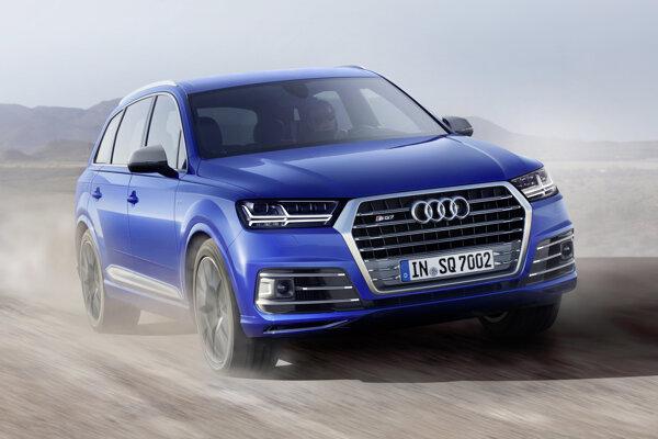 Audi SQ7 - 4,8 sekundy