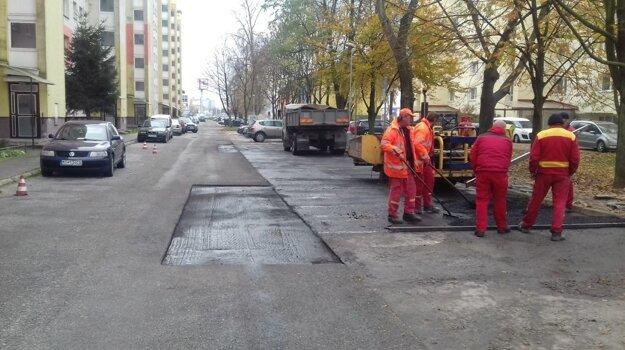 Opravujeme parkovacie plochy.