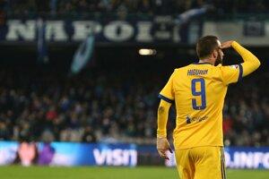 Jediný gól stretnutia strelil Gonzalo Higuain.