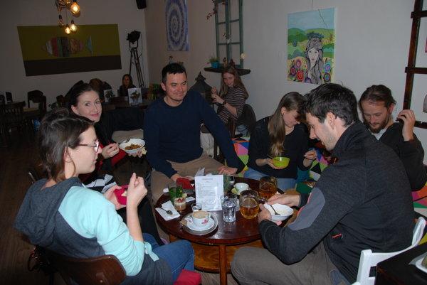 Vianočná vegánska večera v Pezinku.
