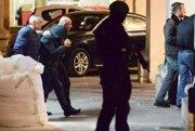 Zásah maltskej polície v prípade vyšetrovania vraždy novinároky Daphne Caruanovej Galiziovej.
