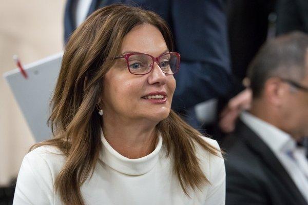 Europoslankyňa Monika Beňová.