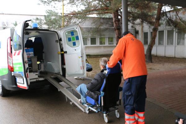 Sťahovanie michalovskej nemocnice.