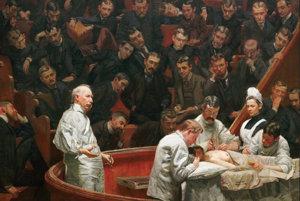 Ilustračné foto. Maľba Thomasa Eakinsa z roku 1889.