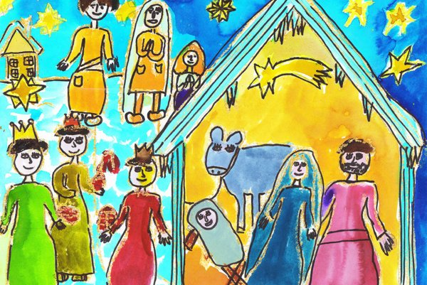 Autorka dielka Lucia Brnušáková, v tom čase mala 11 rokov.