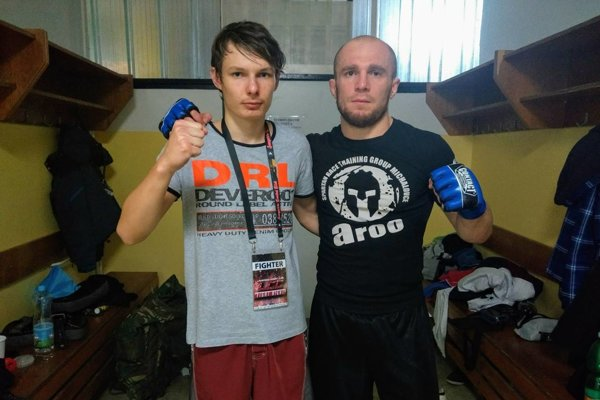 Maroš Kerekeš (vľavo) aJuraj Škruba.