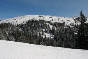 Vrcholová časť Kojšovskej hole.