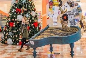Pred Vianocami je v Shopping Palace náučno-zábavná výstava o Európskej únii.