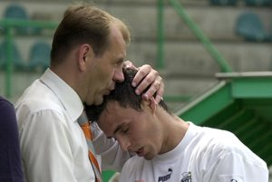 Martin Mikulič (vpravo) a Vladimír Weiss.
