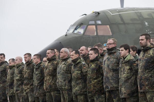 Príslušníci nemeckého Bundeswehru. Ilustračné foto