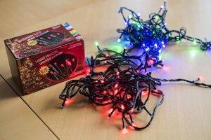 Nebezpečné vianočné svietiace reťaze, ktoré Slovenská obchodná inšpekcia stiahla z trhu.