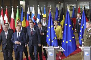 Európski lídri.