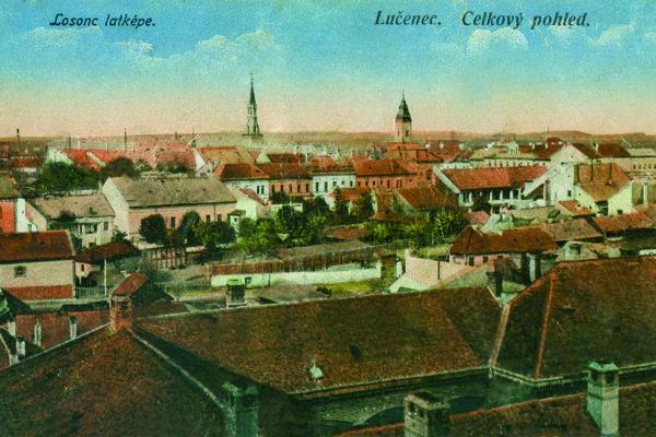 Pohľadnica z Lučenca