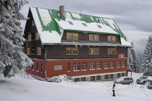 Chata na Martinských holiach.