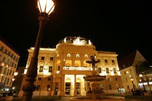 Historická budova SND v Bratislave.
