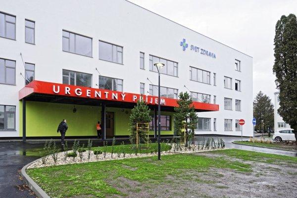Nová michalovská nemocnica.