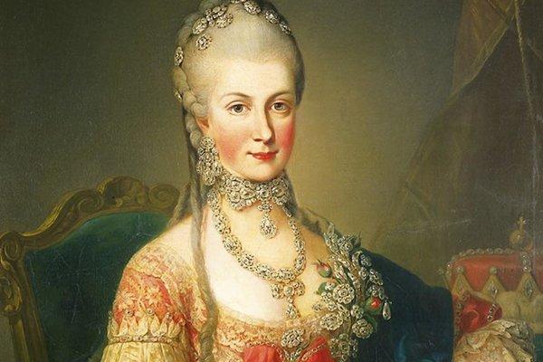 Mária Kristína, dcéra Márie Terézie a manželka Alberta Sasko-Tešínskeho.