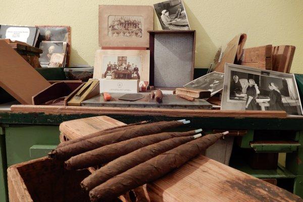 Slávne smolnícke cigary ostali už len v múzeu.