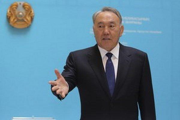 Kazašský prezident Nazarbajev.