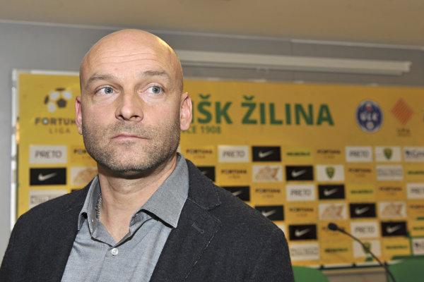 Tréner MŠK Žilina Adrián Guľa sa chce počas sviatkov venovať rodine.