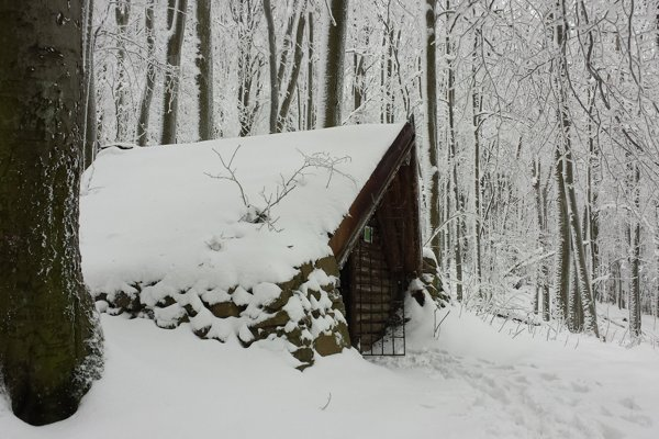 Zimná rozprávka na Pirnagovom vrchu.