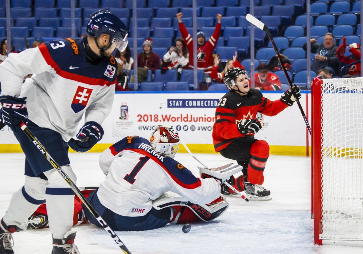 b7f9e5b56 ONLINE: Slovensko - Kanada 0:6 (MS hokej 20 rokov 2018) - Šport SME