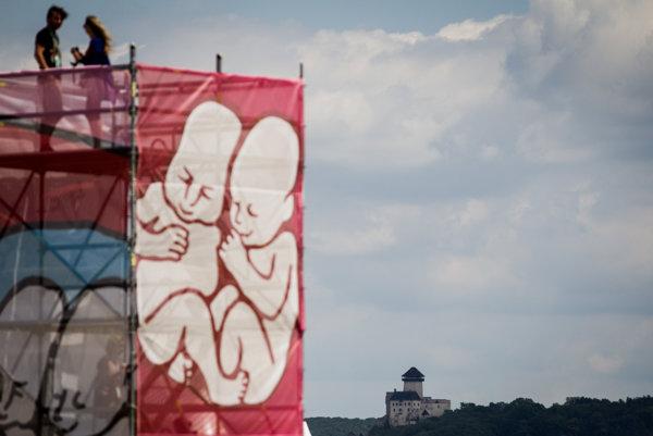 Trenčiansky festival Pohoda.
