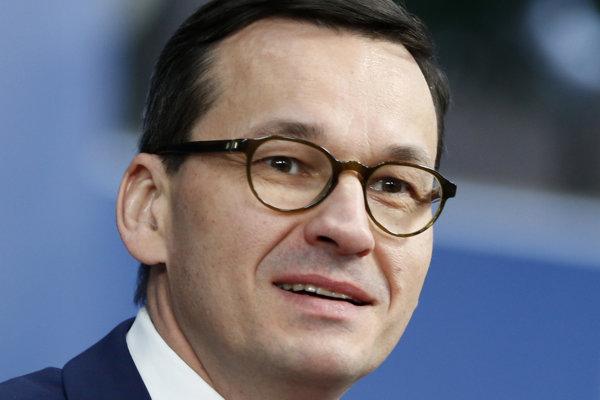 Predseda poľskej vlády Mateusz Morawiecki.