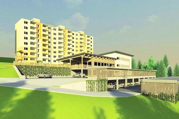 štúdia parkovacieho domu, ktorá má zlepšiť situáciu na sídlisku Brezovec.
