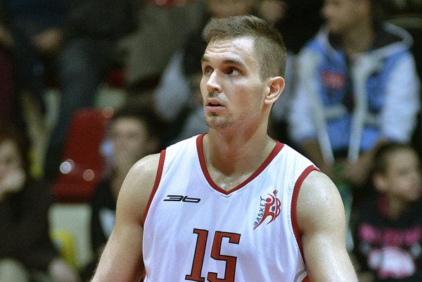 Richard Grznár v drese Banskej Bystrice.