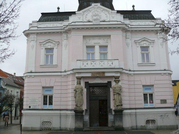 V tejto historickej budove bola 30. októbra 1918 prijatá Martinská deklarácia.