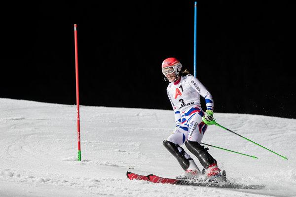 Petra Vlhová po svojom vypadnutí vo Flachau.