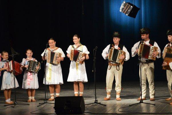 Heligonkári z Terchovej.