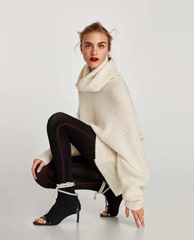 0214a9976c1f Legíny a dlhší sveter - pohodlná klasika - fotogaléria - zena.sme.sk ...