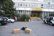 Pracovisku Slovenskej pošty na Tomášikovej ulici v blízkosti železničnej stanice Bratislava - Nové Mesto