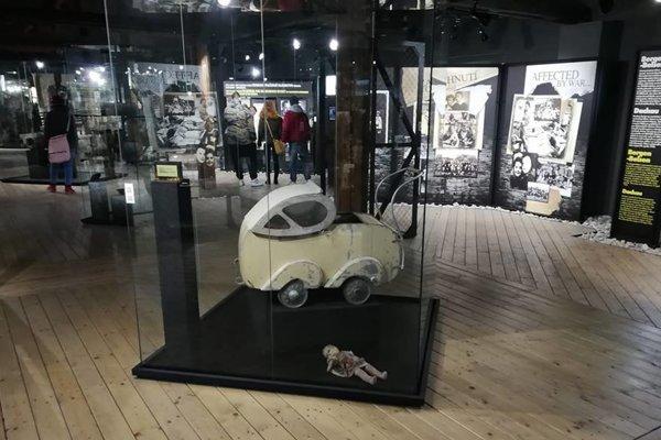 V expozícii Múzea holokaustu.