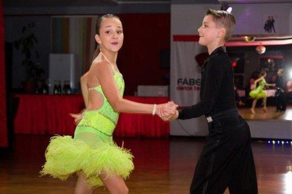 Slovenská tanečná špička z Brezna.