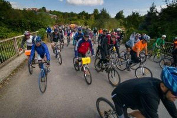 Vlaňajší cyklofest.