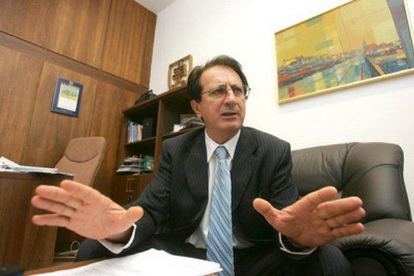 Predseda Strany Moderného Slovenska Milan Urbáni.