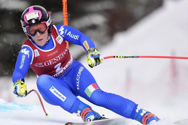 Talianska zjazdárka Elena Fanchiniová predčasne končí sezónu.